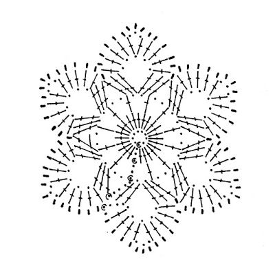 snowflake crochet 143