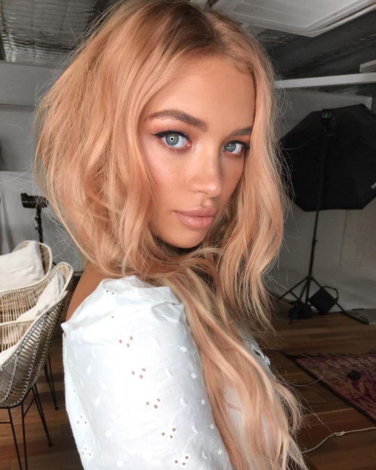 Thank you Nikki Akman for my peachy hair colour Ha…
