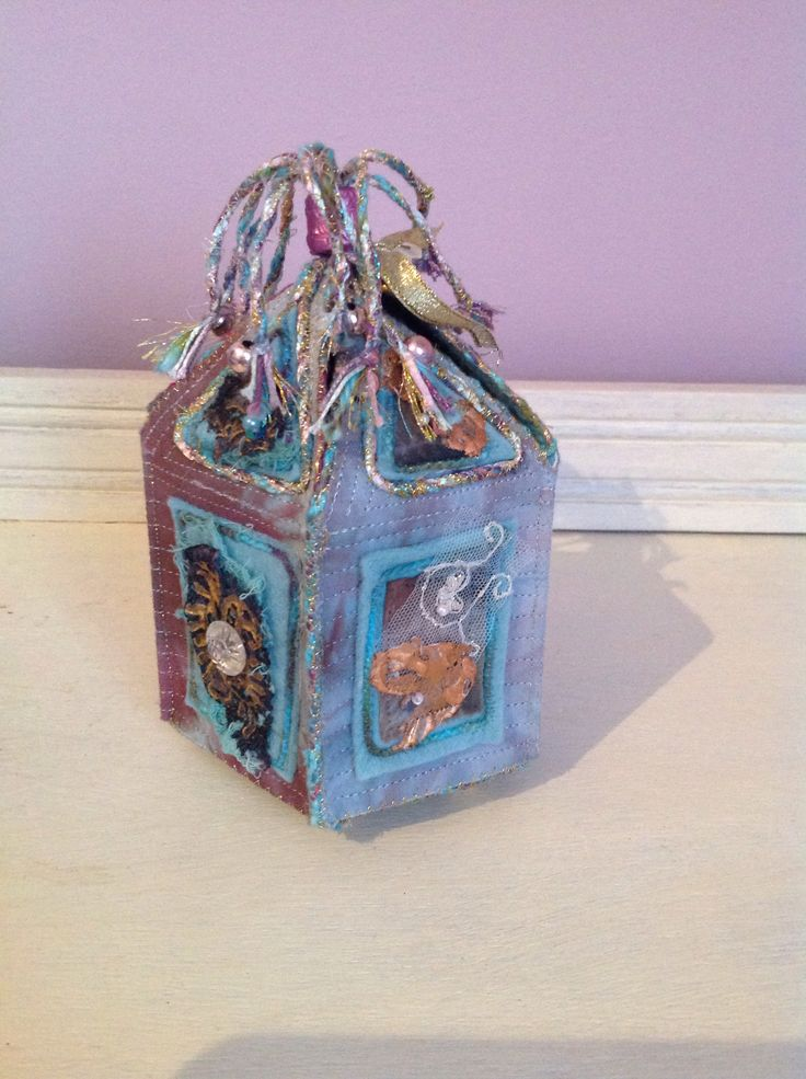 Mixed media box. Kay Horne