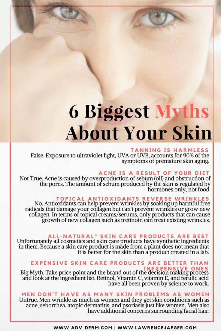 best ideas about dermatology associates burnt six biggest myths about your skin care advanced dermatology associates dr larry