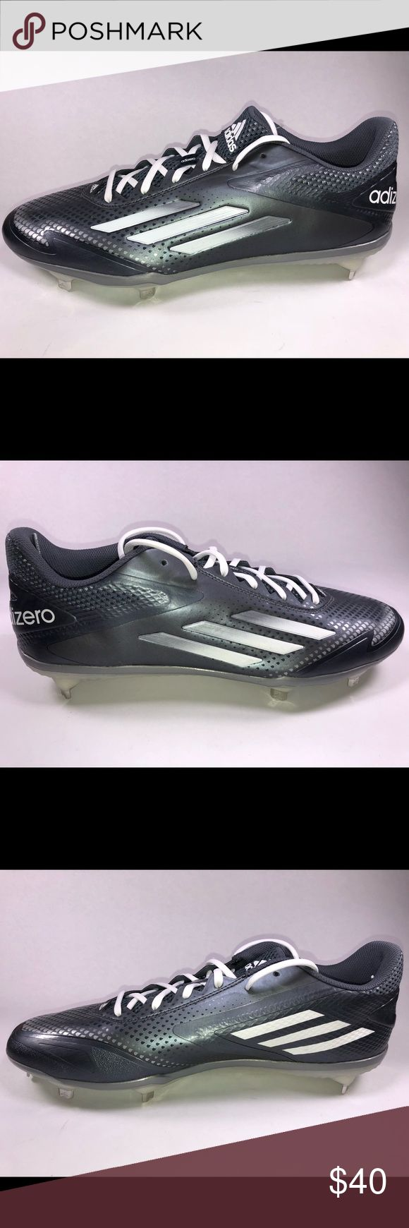 Adidas Adizero Afterburner 2.0 Metal Cleats New Without Box Never Been Worn See Pictures For Details (s846698) adidas Shoes Athletic Shoes