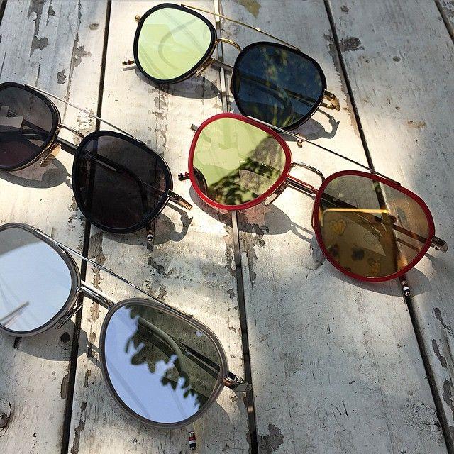 Thom Browne! Luxury sunglasses...