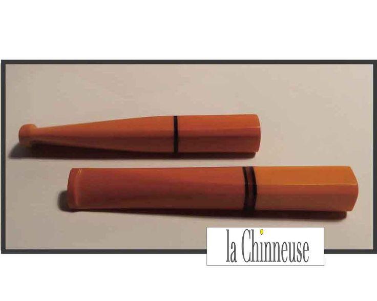 CIGARETTE HOLDER BAKÉLITE / Fume Cigarette en Bakélite / Art Déco Cigarette Holder . de la boutique LaChinneuse sur Etsy