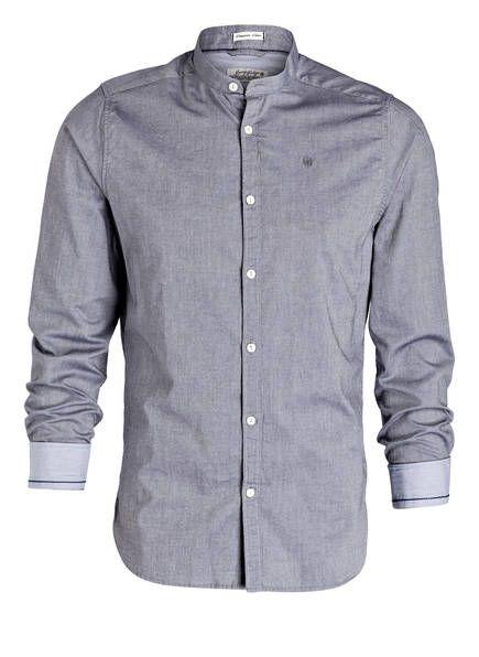 DSTREZZED - Hemd Slim-Fit mit Stehkragen