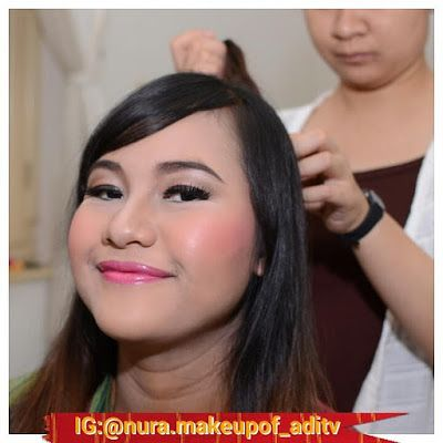 Nura Make Up Of ADITV: bridal make up