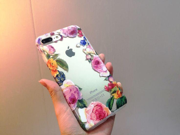 이렇게 아름답고 우아한 케이스 봄? 케이스에 봄이 왔나 봄!  #패치웍스 #보테닉가든 #로즈 #rose #botanicgarden #patchworks #iphone7 #iphone7plus #iphonecase