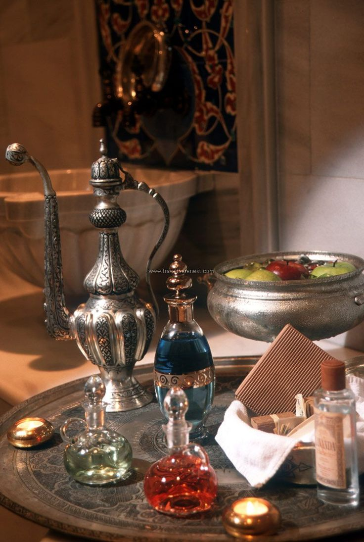Hamman Spa - A display of traditional Turkish amenities  #turkey #istanbul #middleeast #exotic #hamman #spa #turkishbath #relax #experience #travel #traveltherenext