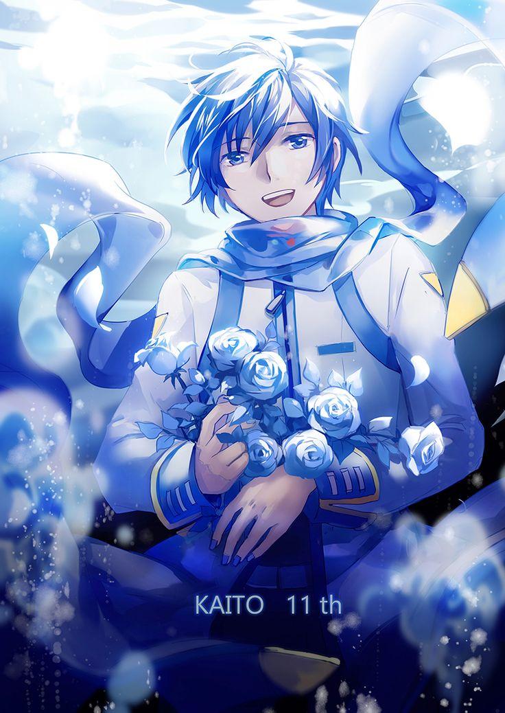 Resultado de imagen para kaito vocaloid kawaii