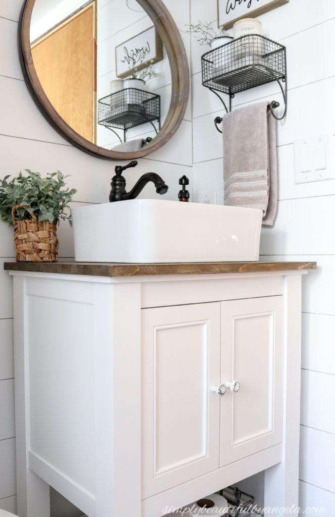 How To Install A Vanity Vessel Sink Combo Vanity Sink Vanity