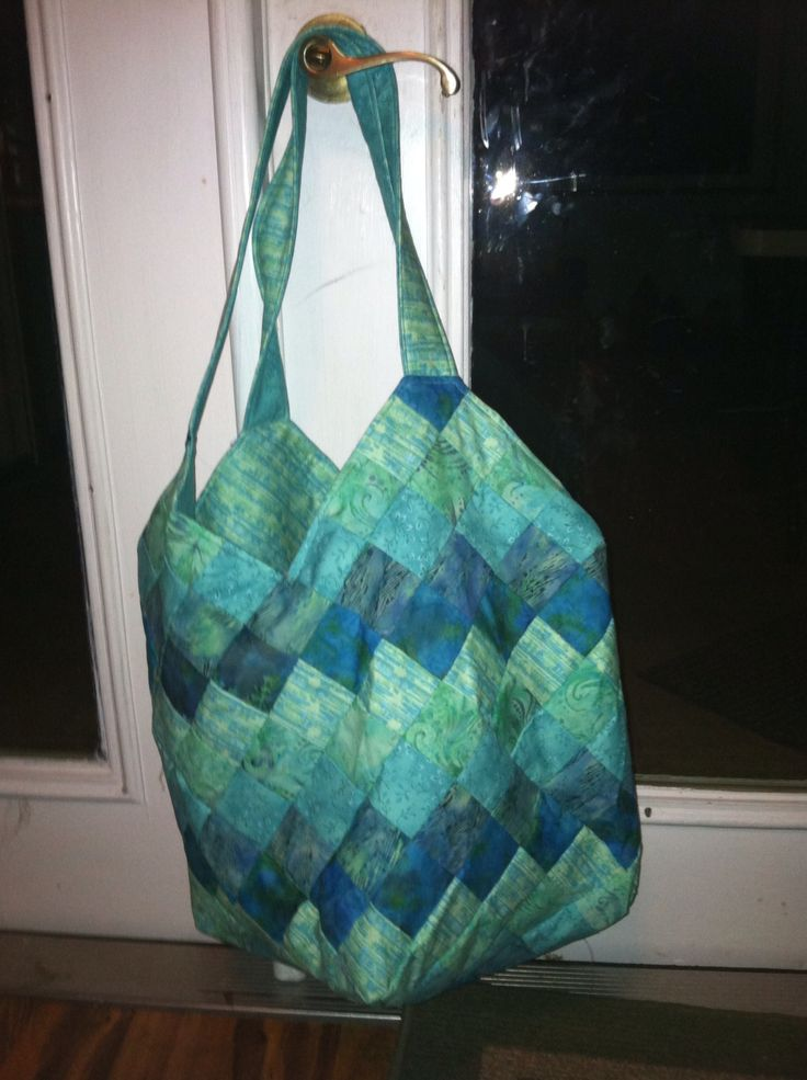 Quiltsmart Mondo Bag #sewing #quilting #diy #totebag