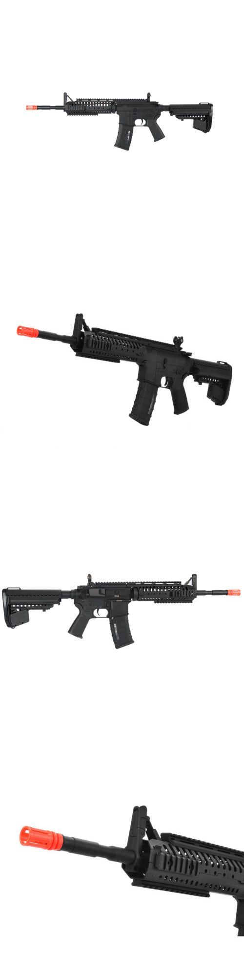 Other Electric Airsoft Guns 31684: Airsoft Gun Full Automatic M4 Aandk Rifle 400 Fps Metal Gear Aeg Ris Iu-Casb-Nb BUY IT NOW ONLY: $236.31