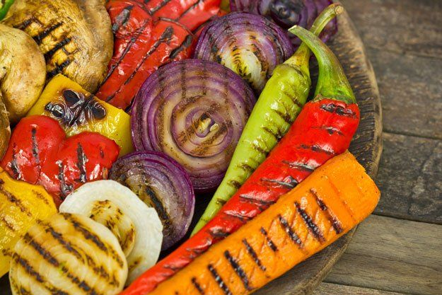 wedding bands diamonds How to Grill Vegetables Like a Pro   Backyard Grilling 101