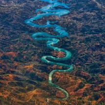 The Blue Dragon (Ribeira de Odeleite, Faro, Portugal); Photo by: Steve Richards; Posted by: White Eagle