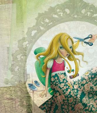 mooiste meisje klein, illustration by Jenny Bakker, http://www.jennybakker.nl/