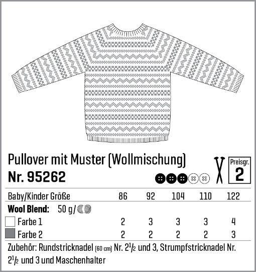 Pulli mit Muster