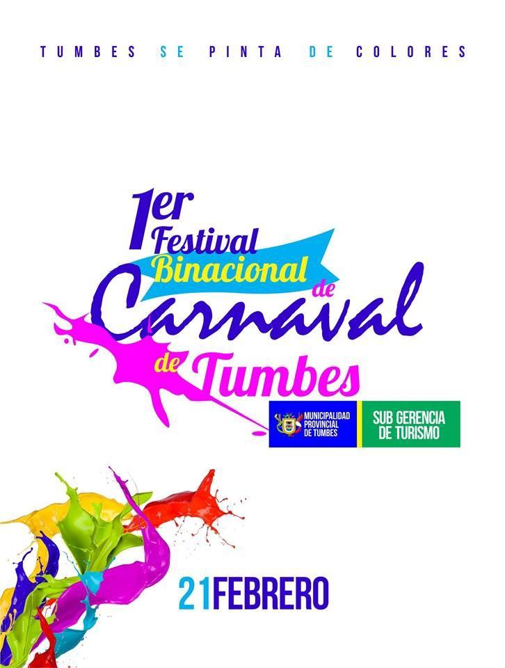 1er Festival Binacional Carnaval de Tumbes 2015
