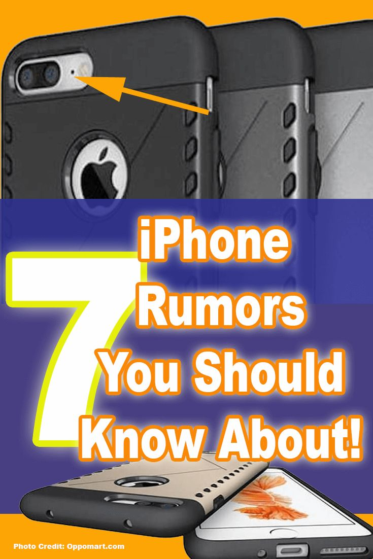 7 Interesting iPhone 7 Rumors You Should Know About the #iPhone7 I scoured the internet in search of some of the best iPhone 7 rumors and concepts I could find. See them here: http://myapplegadgets.com/7-interesting-iphone-7-rumors-you-should-know-about/