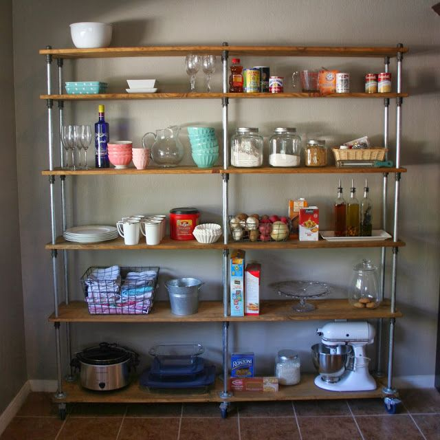 Pipe Shelves Kitchen: 1000+ Images About = pipe_shelving= On Pinterest