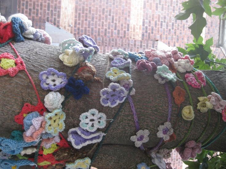 Yarn Bombing in Brunswick