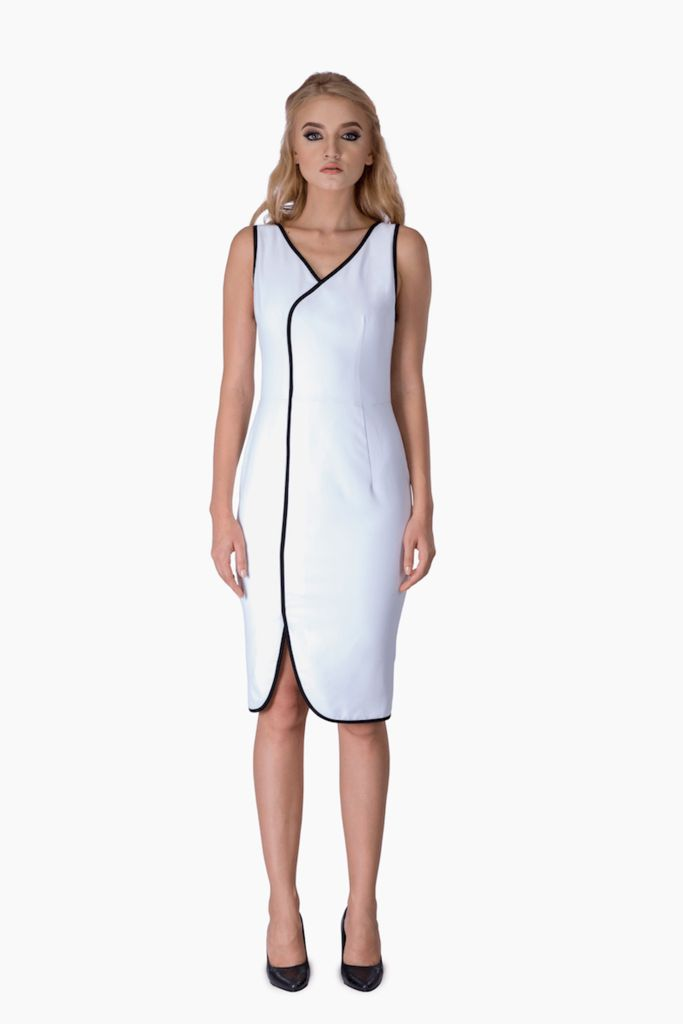 White Cocktail Dress – Mojau