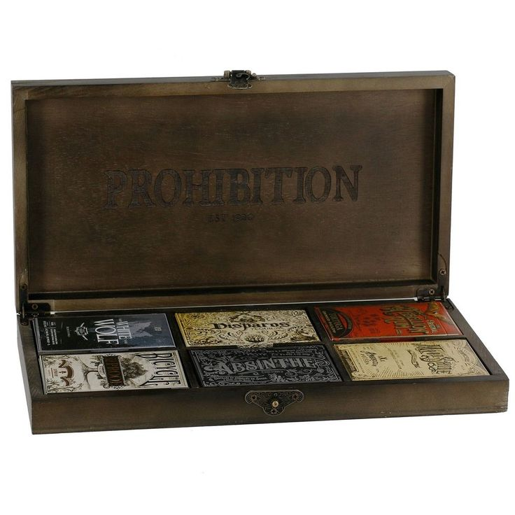 Box Set of 6 Prohibition Limited Edition Playing Cards | eBay