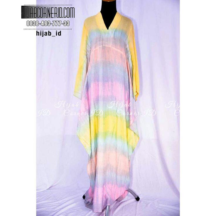 Kaftan tiedye only at hijabcornerid.com