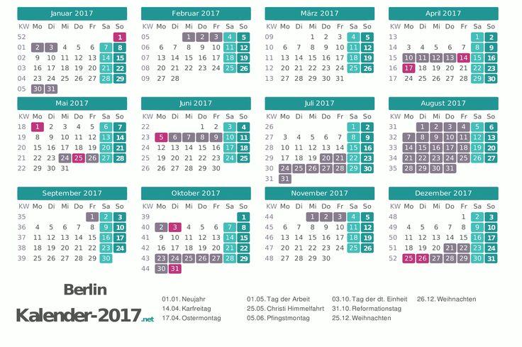 72 besten kalender 2017 zum ausdrucken bilder auf pinterest brandenburg kalender feiertage. Black Bedroom Furniture Sets. Home Design Ideas