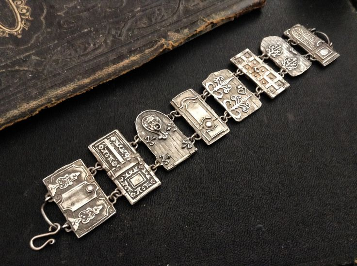 Petite Door Panel Bracelet sterling silver (750.00 USD) by EAdornments - handmade - jewelry - jewellery - artisan - etsy
