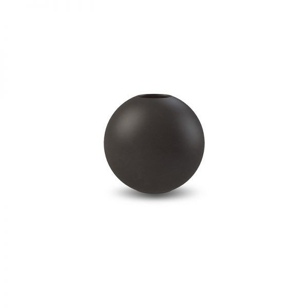 cooee black ball vase (small) via violet and percy. Click on the image to see more!