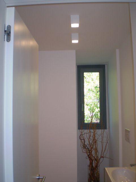 abitazione privata illuminazione bagno led ligting design