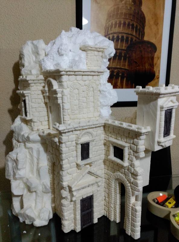 Foro de Belenismo - Arquitectura y paisaje -> castillo 2015
