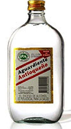 "Arguadiente: ""firewater""...alcoholic drink made from anise and sugar cane from the Andean region of Colombia. There is an old tradition of sitting around a table doing shots of this with your friends, while telling stories of heart-breaking love."