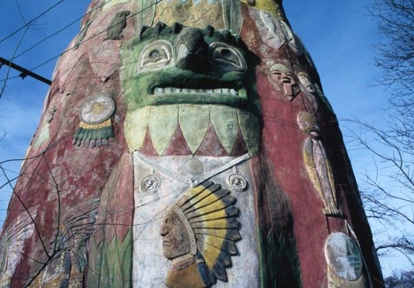 Ed Galloway, Totem Pole Park in Foyil, OK needs your help! Check out how to support the restoration here: http://www.spacesarchives.org/blog/2015/06/27/help-fund-the-ed-galloway-totem-pole-restoration-project/