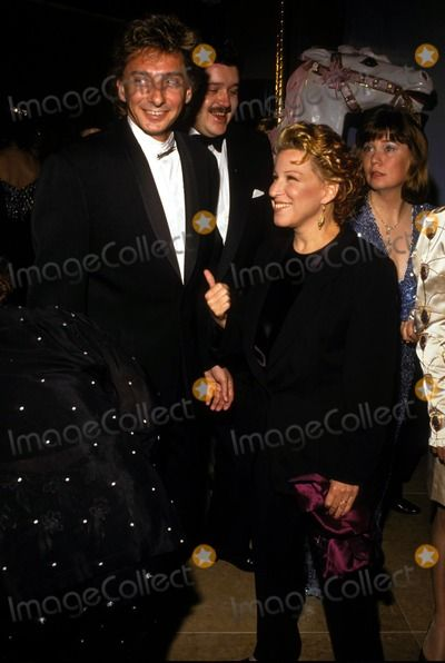 1991 Bette Midler and Barry Manilow