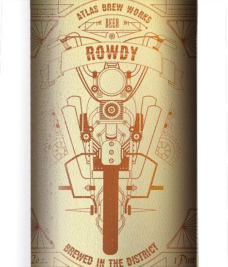 Atlas Brew Works Bottle