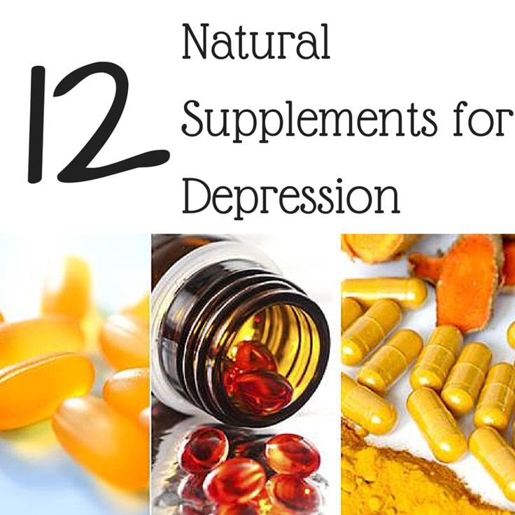 Natural Depression Supplements