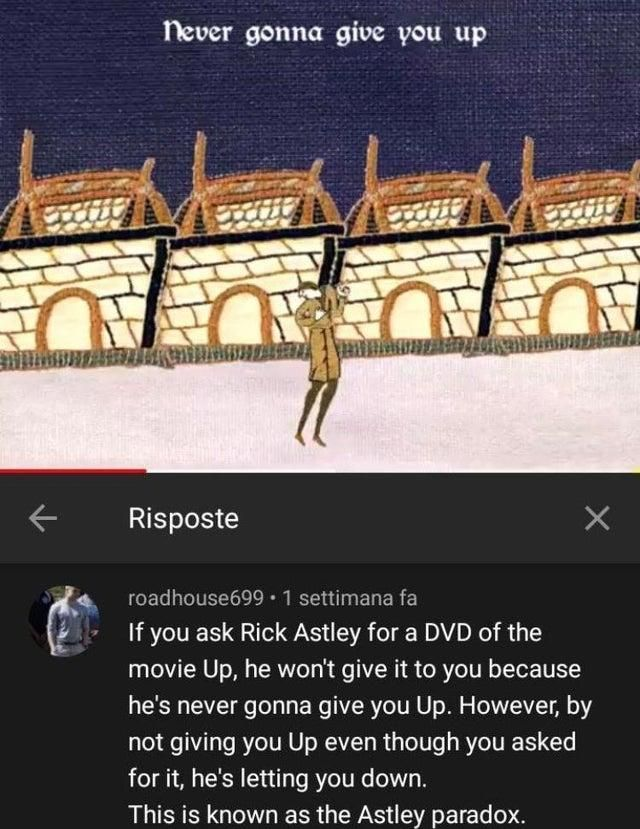 Astley Paradox Rickroll Funny Tumblr Posts Rick Astley Funny Relatable Memes
