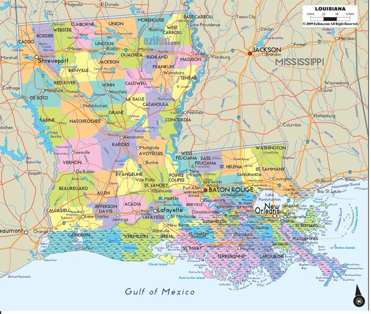map of louisiana with cities towns and counties also with