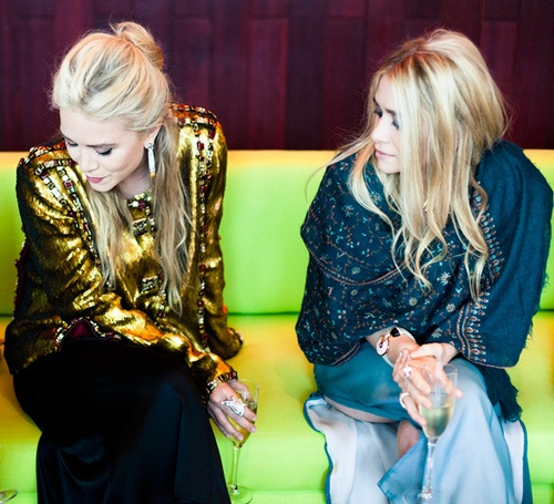 via tumblrFashion, Hair Colors, The Row, Ashley Olsen, Style Icons, Ashleyolsen, Mary Kate, Full House, Olsen Twin