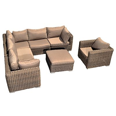 Havanha All Weather 7 Piece Sectional