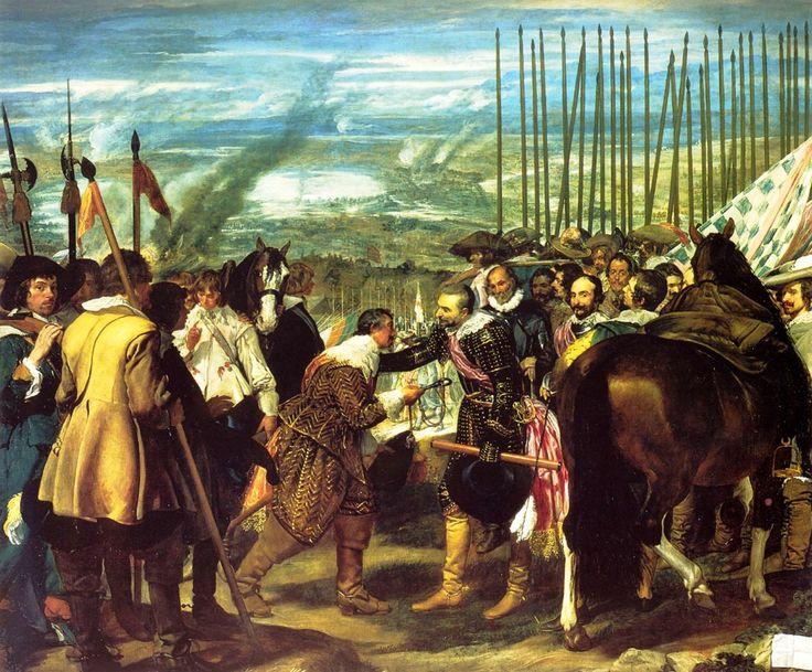Diego Velazquez - A rendição de Breda