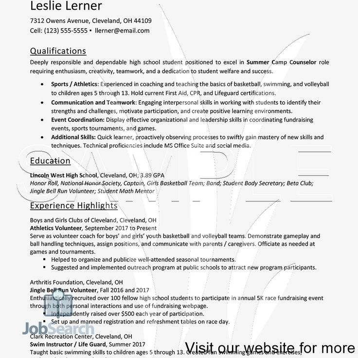 40 Sample Resume College Student in 2020 Student resume