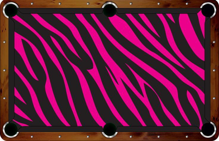 Pool Felt Guru - Vivid Pink Leopard 7'/8' Custom Pool Table Felt - VVCF17, $500.00 (http://www.poolfeltguru.com/vivid-pink-leopard-7-8-pool-table-felt-vvcf17/)