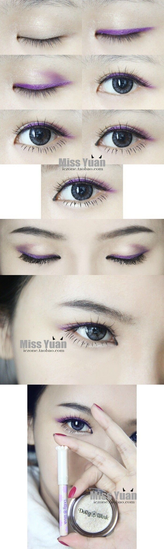Mysterious eye make up #make up #idea