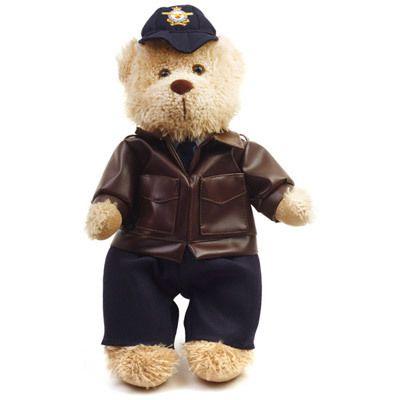 Defence Gifts - RAAF Teddy Bear in A2 Flying Jacket 30cm, $25.95 (http://www.defencegifts.com.au/raaf-teddy-bear-in-flight-jacket-30cm/)