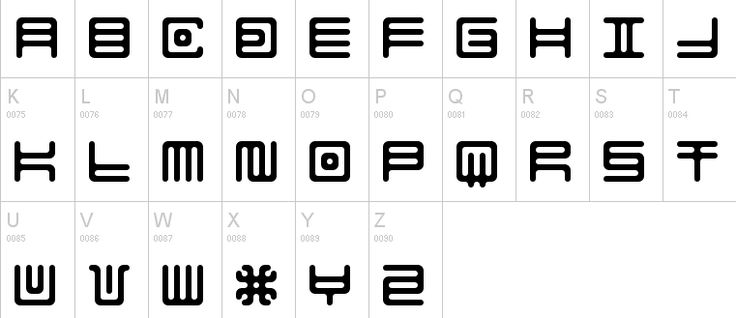 10 Fictional Alphabets You Can Actually Use
