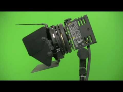 Royalty Free stock Footage - Lowel Film Production Studio Light
