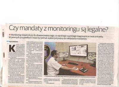 BISPRO24: Czy mandaty z monitoringu są legalne?