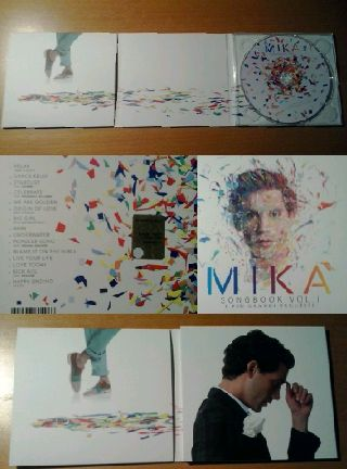 Mika Songbook Vol 1 art
