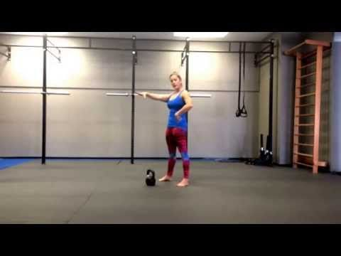 How To Do A Kettlebell Snatch (video) | Girls Gone Strong